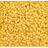 Seedbead 10/0 Luster Opaque Yellow